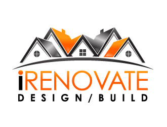 iRENOVATE DMV logo design