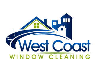 west coast window cleaning logo design 48hourslogo com rh 48hourslogo com window cleaner logos window cleaning logos free