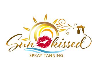 Sun-kissed Spray Tanning logo design