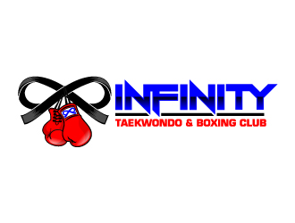 INFINITY TAEKWONDO & BOXING CLUB logo design