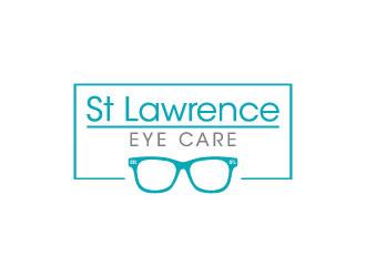 St Lawrence Eye Care logo design