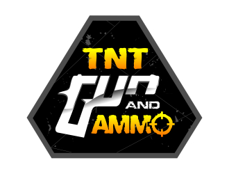 TNT Gun and Ammo LLC logo design