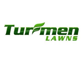 Turfmen Lawns logo design