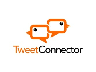 Tweet Connector logo design