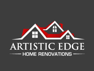ARTISTIC EDGE Home Renovations logo design