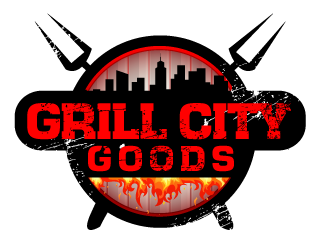 Grill City Goods logo design