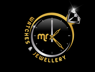 mr K Watches & Jewellery logo design