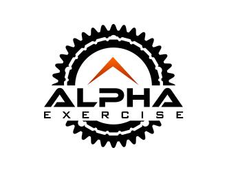 Alpha Exercise logo design