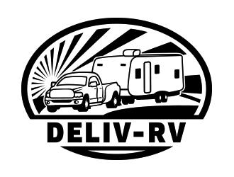 Deliv-RV logo design