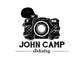 John Camp Artistry logo design