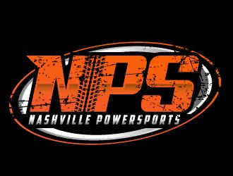 NPS Nashville Powersports logo design