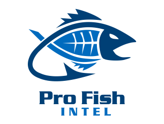 Pro Fish Intel logo design
