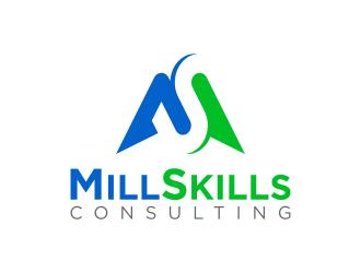 MillSkills Consulting logo design