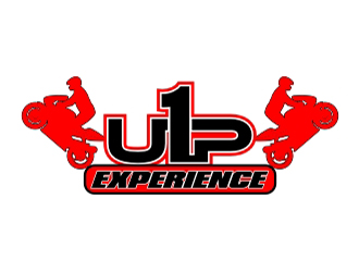 1 UP EXPERIENCE logo design