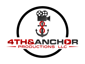 4th&Anchor Productions logo design