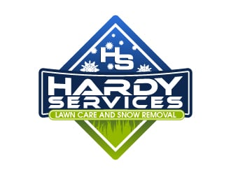 Hardy Services logo design