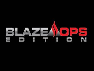 Blaze Ops logo design