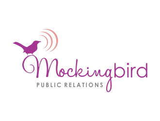 Mockingbird Public Relations logo design