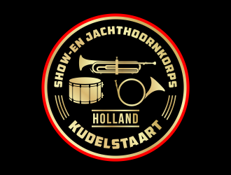Show- en Jachthoornkorps Kudelstaart logo design