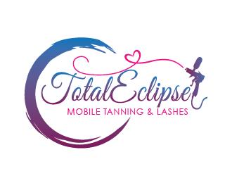 Total Eclipse Mobile Tanning logo design