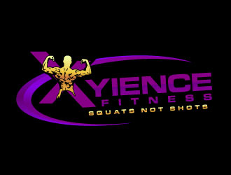 Xyience Fitness logo design