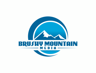 Brushy Mountain Media logo design