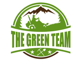 The Green Team logo design
