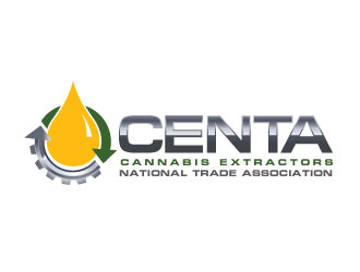 CENTA: Cannabis Extractors National Trade Association logo design