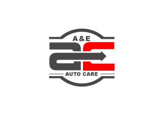 A&E Auto Care logo design