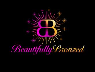 Beautifully Bronzed logo design