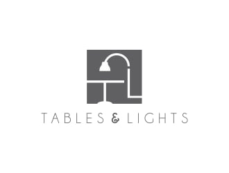 Tables and Light logo design