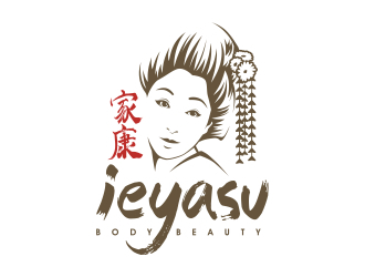 Ieyasu - Body.Beauty logo design