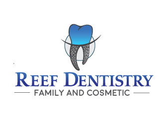 Reef Family and Cosmetic Dentistry logo design