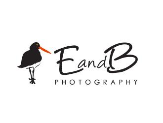E and B Photography logo design