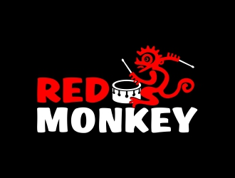 Red Monkey logo design