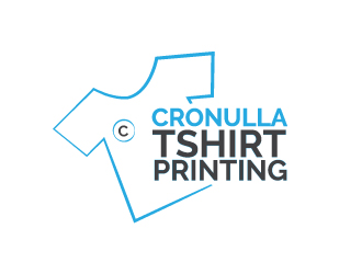Cronulla tshirt printing logo design for Company logo t shirt printing