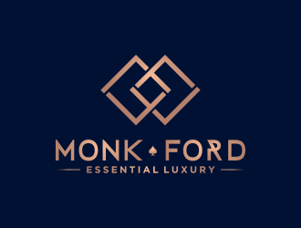 MONK FORD logo design