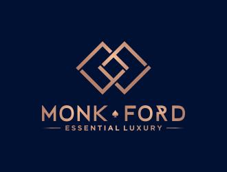MONK FORD logo design