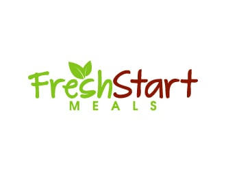 Fresh Start Healthy Meals logo design