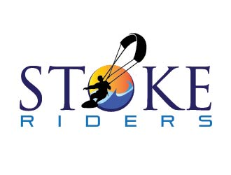 Stoke Riders logo design