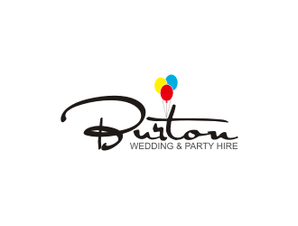 Burton Wedding & Party Hire logo design