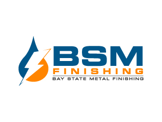 BSM Finishing or Bay State Metal Finishing logo design