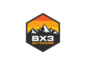 BX3-Outdoors logo design