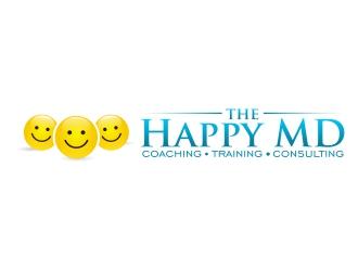 The Happy MD logo design