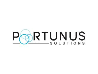 Portunu Solutions logo design