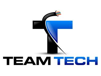 Team Tech logo design - 48HoursLogo.com