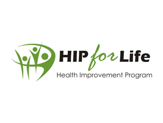 HIP for Life logo design