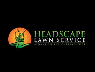 Headscape Lawn Service logo design