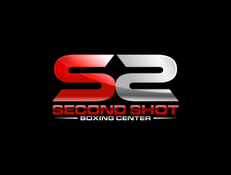 Second shot boxing logo design
