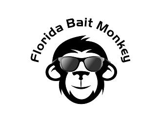 Florida Bait Monkey logo design